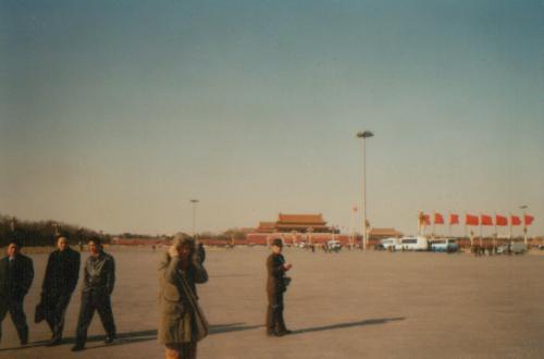 170. -3. Der Tian'anmen Platz ; größter Platz der Welt